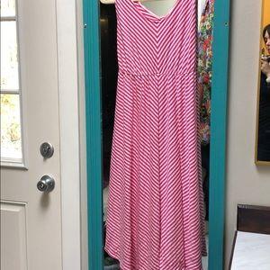 Flattering midi maternity dress- NWT!